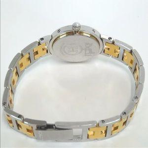 Hermes Accessories - HERMÈS Women's Clipper Two-Tone Watch w box